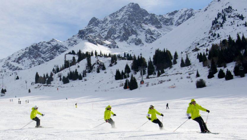 Shymbulak ski school