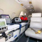Пациентку, пострадавшую в ДТП успешно транспортировали санавиацией из п. Маканчи в г. Семей