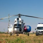 ДТП в Жамбылской области. Авиатранспортировка пострадавшей при помощи сил санитарной авиации