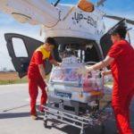 Транспортировка новорожденных санавиацией Республики Казахстан