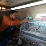 Двухмесячный пациент транспортирован санитарной авиацией из Кызылорды в Астану