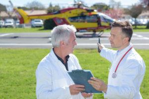 Медицинские вертолеты в Казахстане